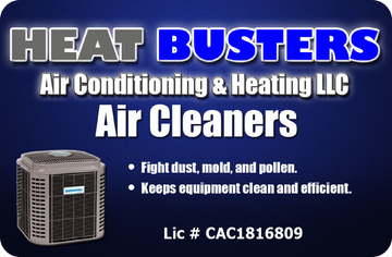 Air cleaner image showing benefits of indoor air quality equipment